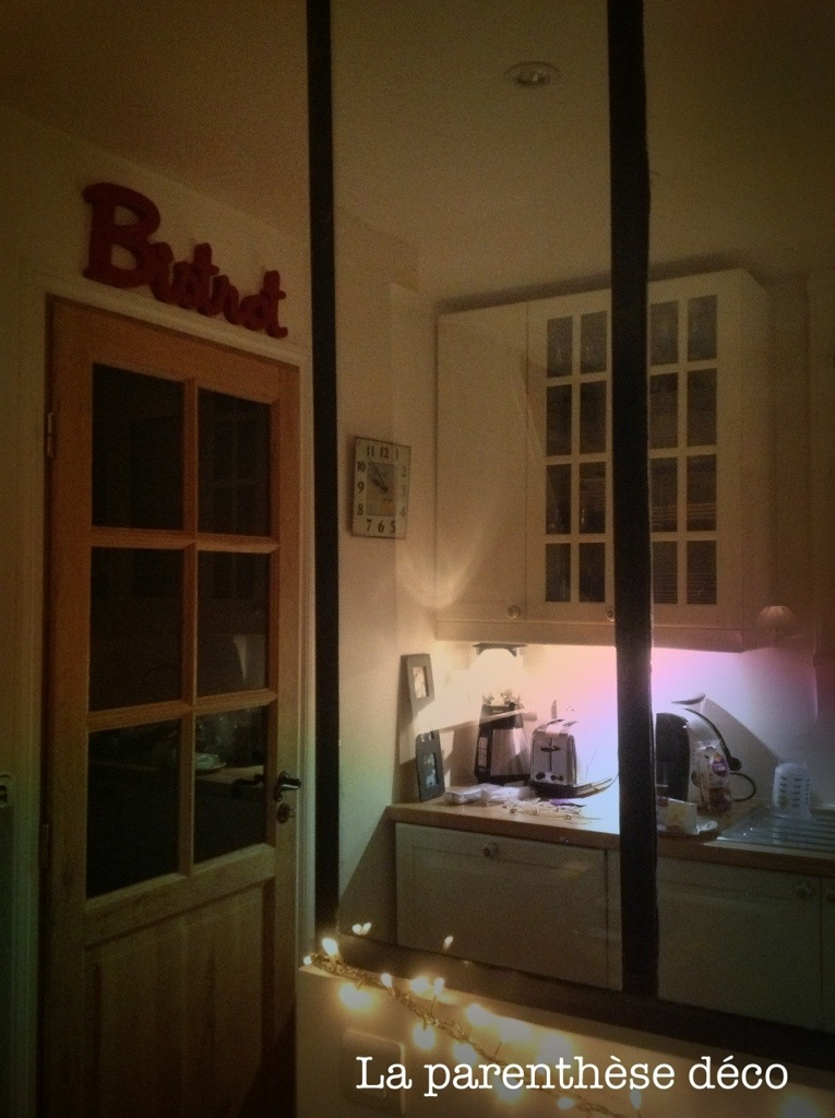 Transformer une fen tre en verri re d atelier la parenth se d co - Fenetre atelier cuisine ...