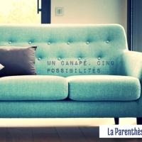 Un canapé rétro, cinq possibilités...