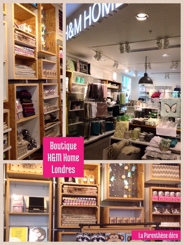Boutique H et M Home, Londres
