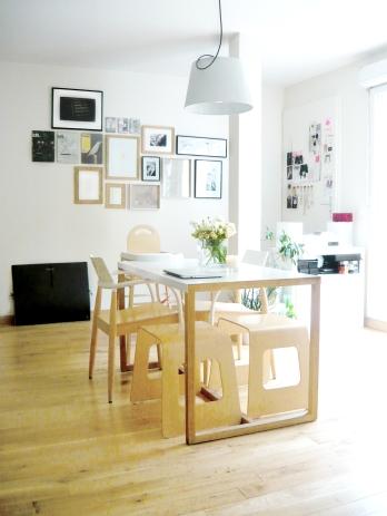 Salon blanc artiste Christelle Dit Christensen