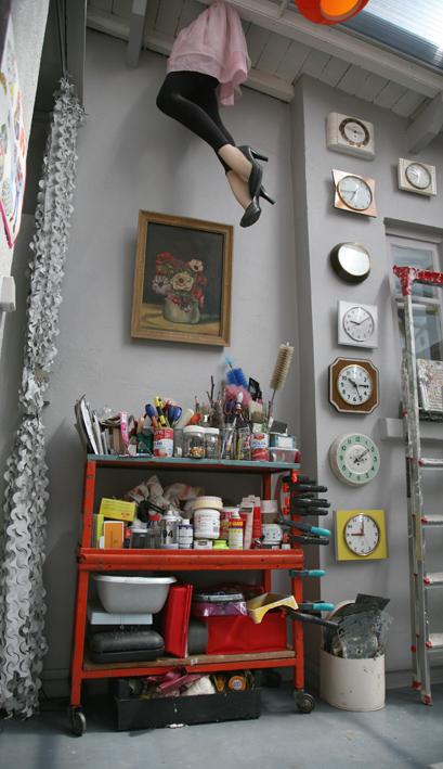 Atelier peinture Madame La Broc