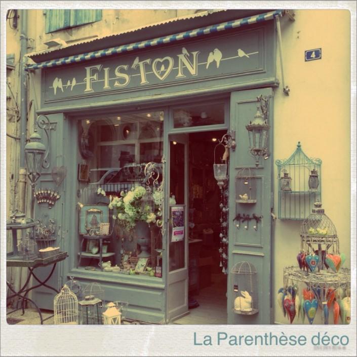 Boutique de décoration à Saint-Rémy de Provence