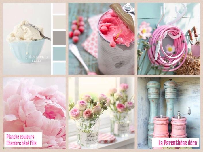 Deco Bleu Chambre Bebe : Chambre Rose Et Bleu  et d'énergie en associant le rose pâle, le