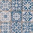 Motifs géométriques et floraux