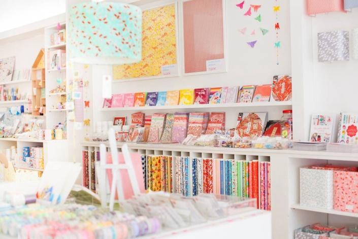 Boutique papeterie et tissus japonais