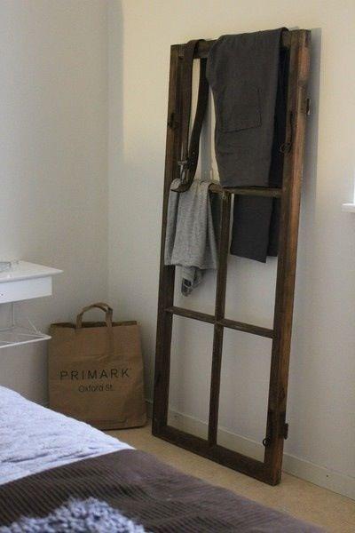 8 id es d co pour recycler une vieille fen tre la. Black Bedroom Furniture Sets. Home Design Ideas