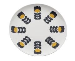Orla Kiely - Assiette à dessert imprimée - 5e