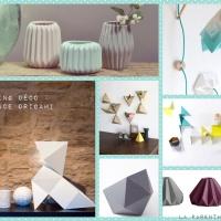 La tendance origami dans la déco
