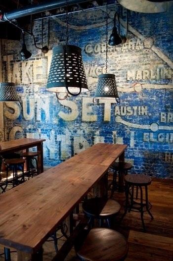 Déco vintage mur peint - la parenthèse déco blog