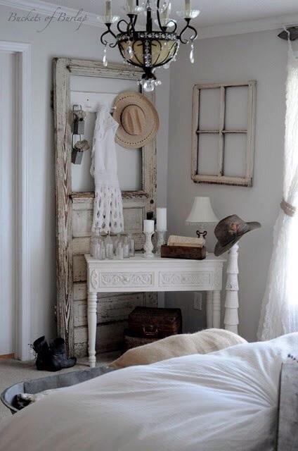 Recycler une porte et une fenêtre ancienn