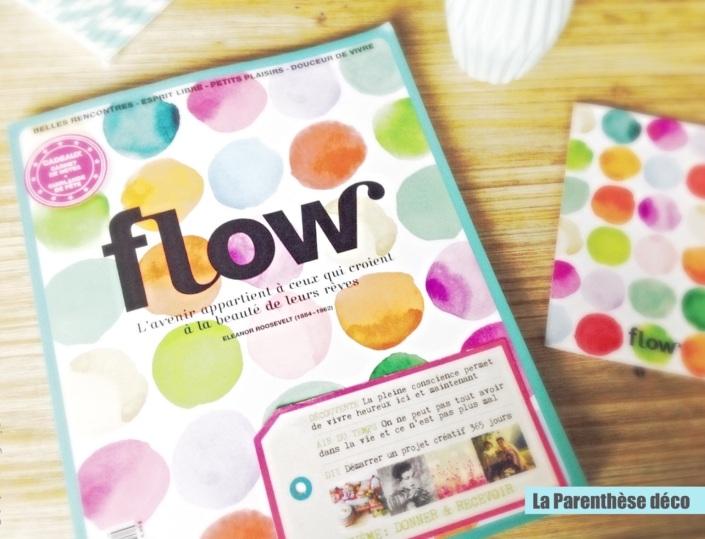 Flow magazine, papiers