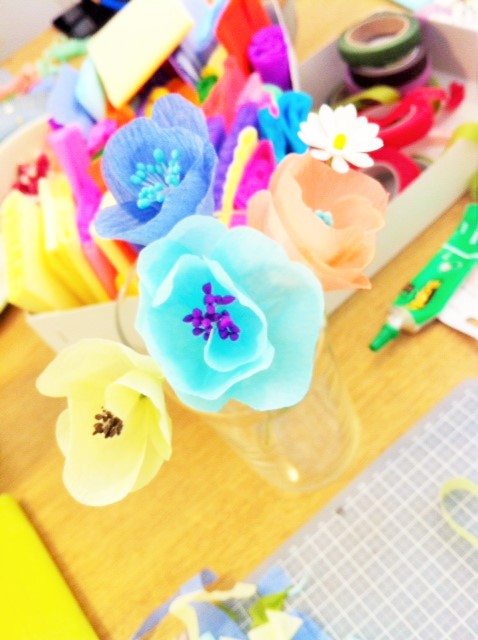 Adeline Klam, fleurs en papier (7)