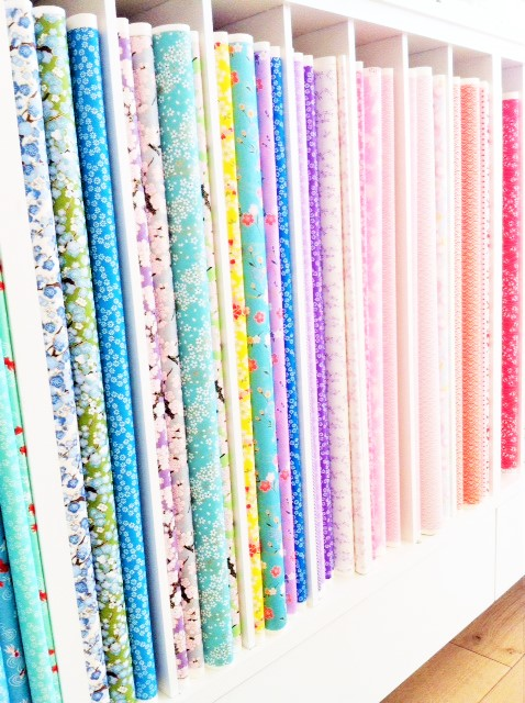 Papier japonais vu sur La Parenthèse déco