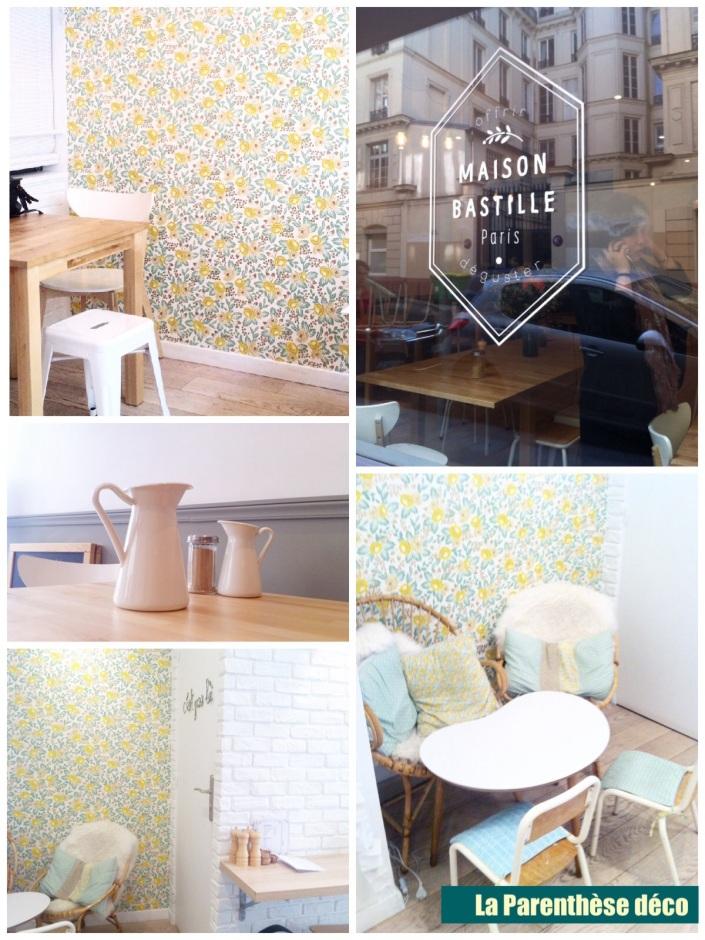 Salon de thé tendance à Paris