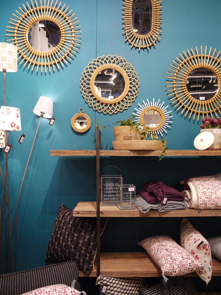 Miroirs en rotin inspiration et adresses d co la for Jardin d ulysse miroir