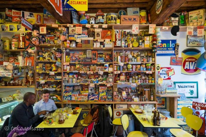 La limonade de Marinette bazar nostalgique Bonux, Persil, Banania