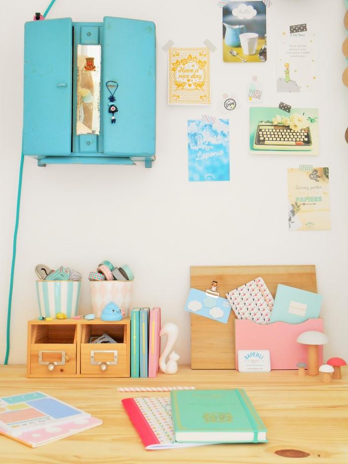 Bureau 5 Idees Pour Creer Son Mur D Inspiration La Parenthese Deco