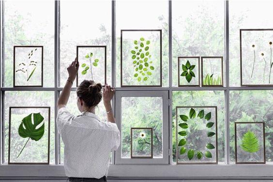 Déco green végétal botanique