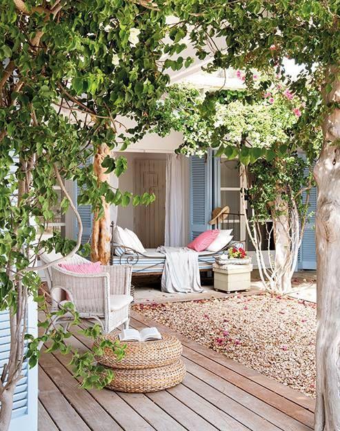 Balcon, Terrasse Et Jardin : 5 Astuces Pour Créer Une Jolie